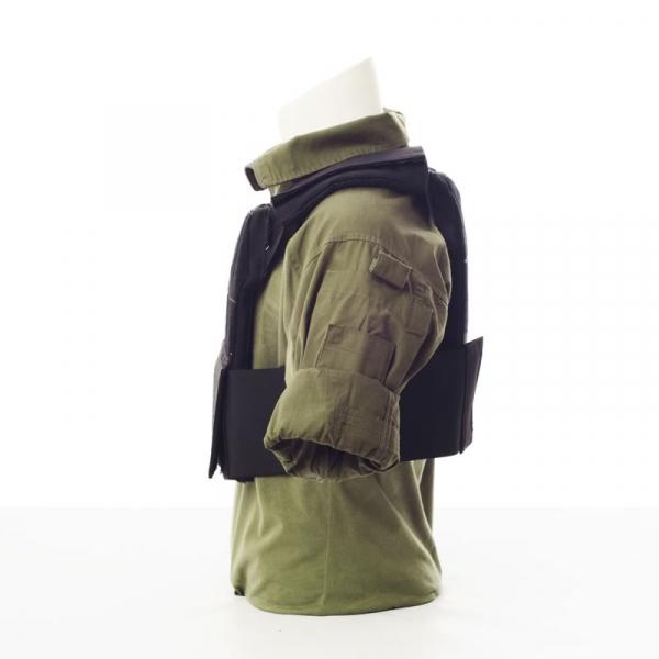 Chaleco Lastrado Metcon Tactical Vest Negro perfil