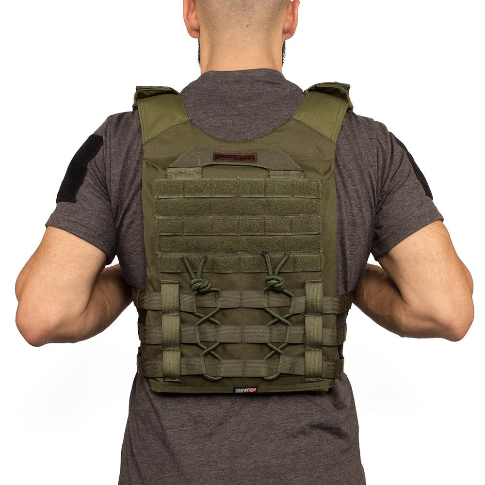 calistenia o fitness crossfit adatto per piastre zavorrate TRAINLIKEFIGHT OLDSKULL Vest Gilet zavorrato regolabile per allenamento