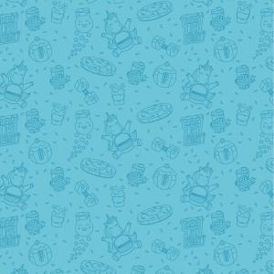 Wallpaper_RainbowCookieBeast_Blue_Simply Preview