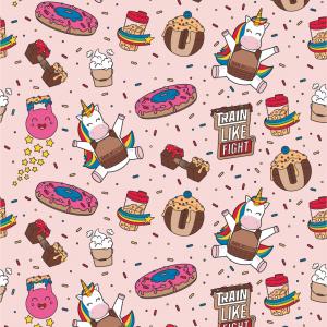 Wallpaper_RainbowCookieBeast_Pink Preview